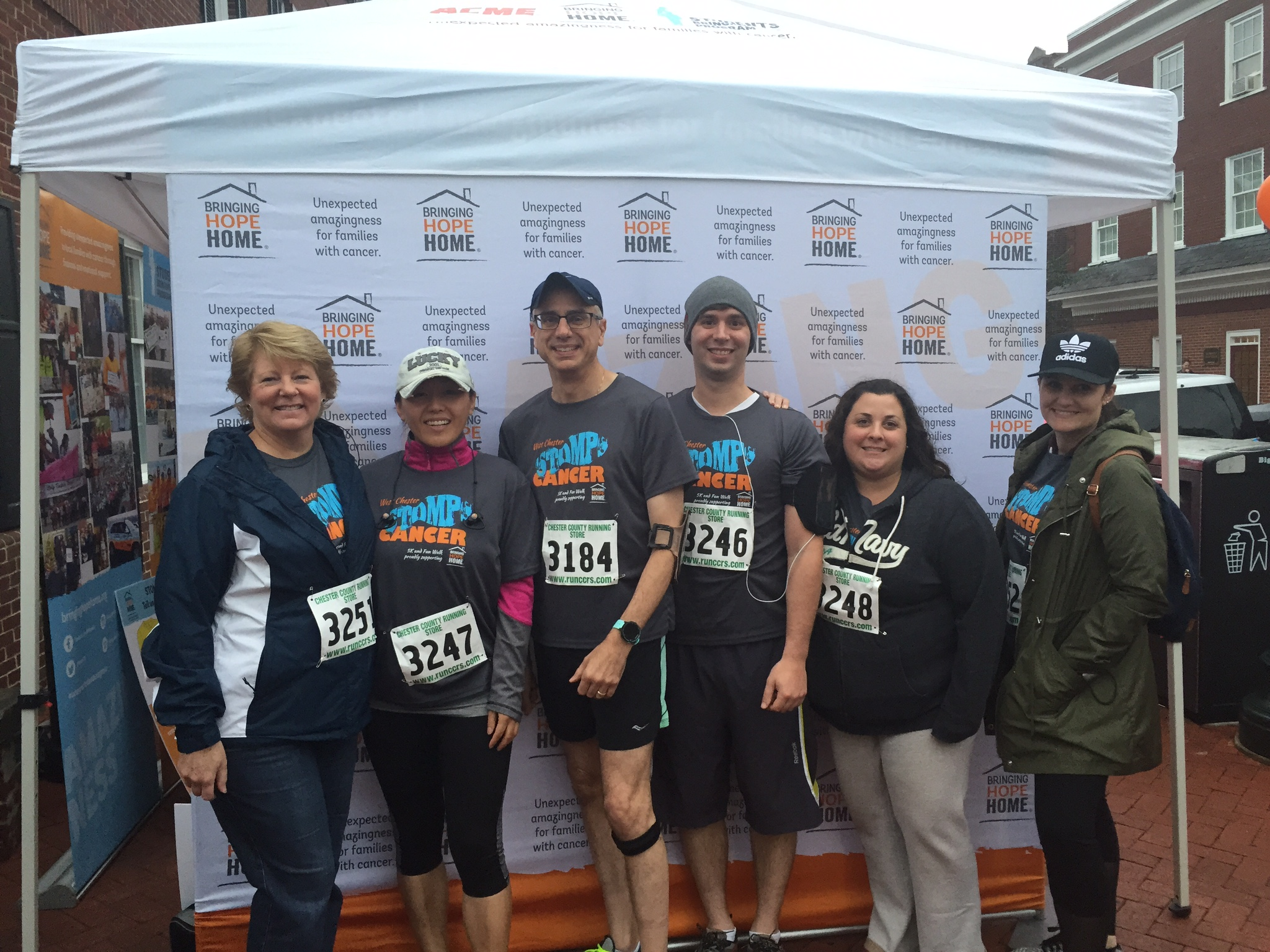 Rainer in 5k Run for Cancer